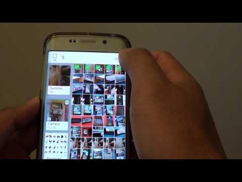 Samsung Galaxy S6 Edge: How to Create a New Photo Album