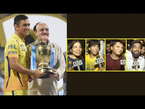 IPL 11 Final: CSK's fans celebrating the win; Watch the Public Reaction | Oneindia News