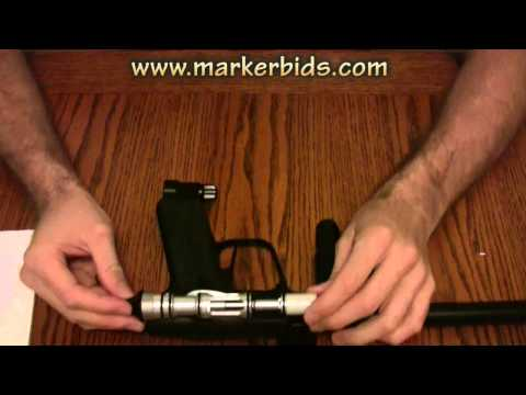 2011 Mokal Aura Paintball Marker Unboxing