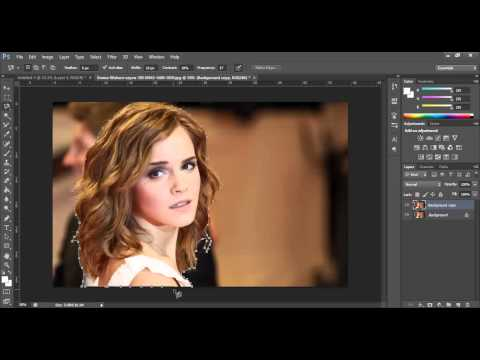 Photoshop CS6 Tutorials: Cutting out images