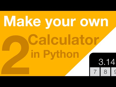Make your Own Calculator in Python - Part 2 - Tokenizing