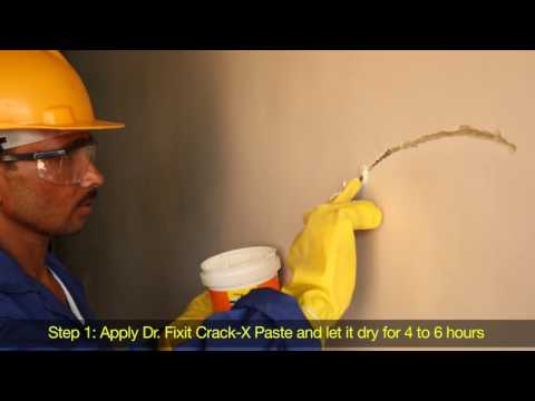 Dr. Fixit Pidicrete URP, Crack-X Range and Dr. Fixit Dampguard Prevents Dampness and Seepage (Hindi)