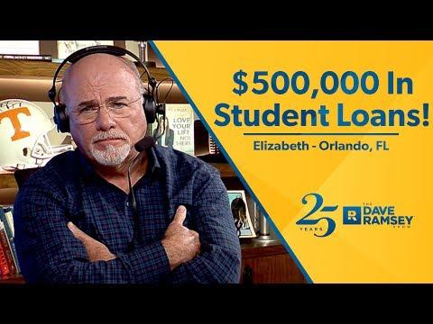I Have Half a Million Dollars In Student Loan Debt!!