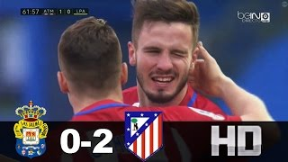 Las Palmas vs Atlético de Madrid (0-2) Resumen & Goles [All goals and Hightlights] Copa del Rey