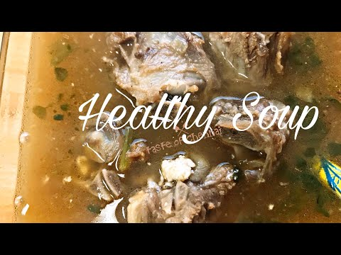 Mutton Bone Soup for Babies, Toddlers and Kids | Healthy Mutton Bone Soup | Mutton Soup