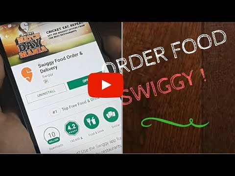 HOW TO USE  SWIGGY TO ORDER FOOD| SWIGGY