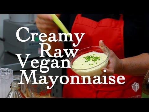 Creamy, Raw, Vegan Mayonnaise Recipe