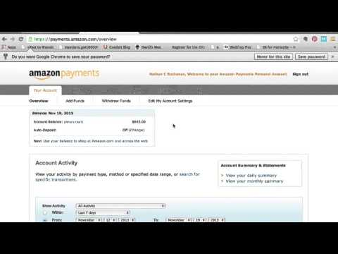 How to Withdraw Money from Amazon Payments