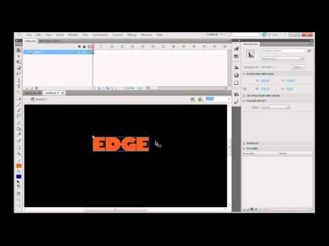 Create a Flash CS5 Intro Movie with Motion - Part 1