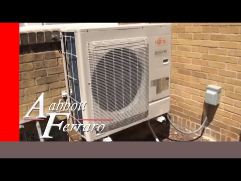 Fujitsu Ductless Mini Split System Installed In St Paul