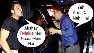 DRUNK Twinkle Khanna Sits In Bobby Deol