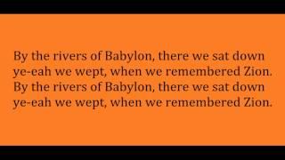 Boney M - Rivers of Babylon (Lyric Video)