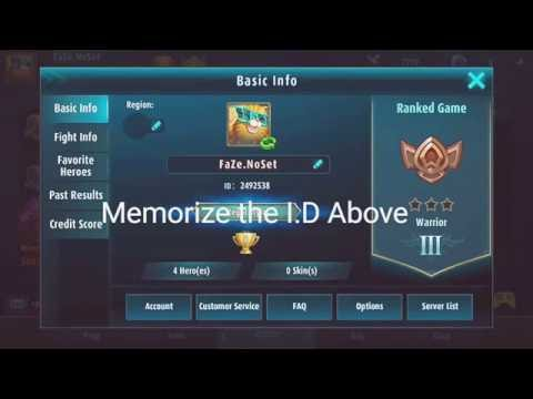 How to change server in Mobile Legends Easy way !!! Legit!!!!!