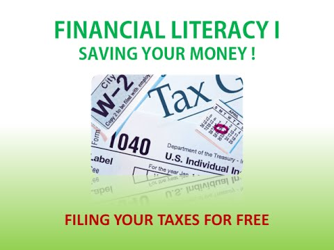Filing Your Taxes For Free - Student Support Services