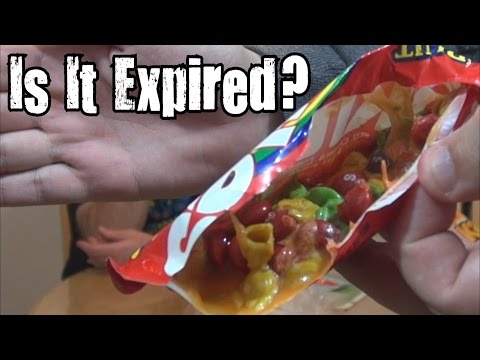 Is It Expired? - 21 Year Old Skittles
