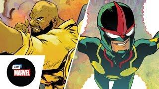 Ask Marvel:Ramón Pérez (Nova) & Sanford Greene(Power Man & Iron Fist)