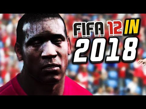FIFA 12 but it's in 2018