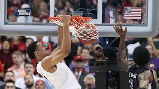 Check out the best dunks from the 2018 NCAA Tournament