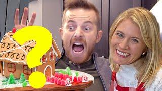 Friend Vs. Wife Gingerbread House Challenge ft. Bobby Berk •Ned & Ariel