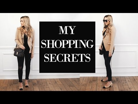 HOW TO BE STYLISH ON A BUDGET! MY SHOPPING HACKS AND TIPS!