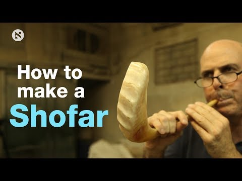 How to make a shofar? A look inside Israel's biggest factory