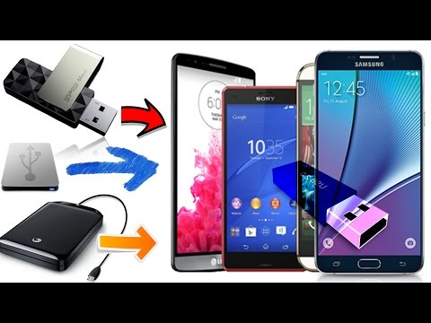 Connect a USB Flash to Android (Extra Storage)