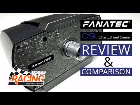 Fanatec CSL Elite vs  Thrustmaster TS-PC Racer vs  Fanatec