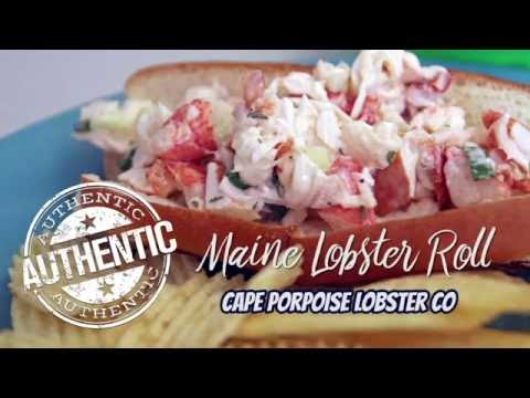 Authentic Maine Lobster Roll Recipe