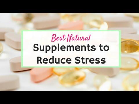 5 Pills to Stop Stress