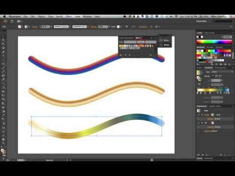 Illustrator CS6 | New Gradient Stroke Magic