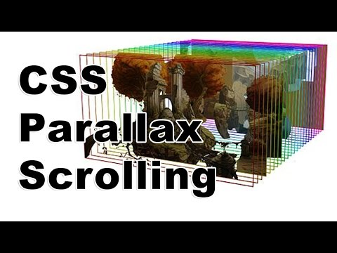 Photoshop CSS Parallax Scrolling
