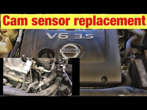 How to Replace Bank 1 and Bank 2 Cam Sensors on a 2001-2006 Nissan Altima with 3.5L Engine