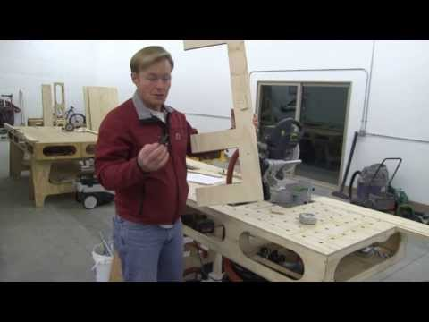 BUILDING THE PAULK TOTAL STATION PART 2: CUTTING SAW HORSE PARTS