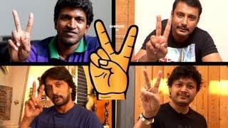 VICTORY | Khali Quater Stars Special Full HD Kannada Song | DARSHAN | PUNEETH | SUDEEP | GANESH