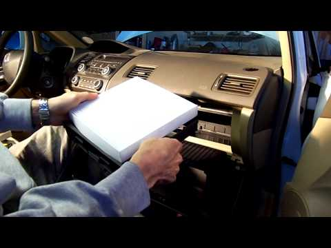 How to replace the cabin air filter Honda Civic 2006 - 2011