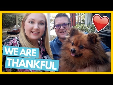 We Are So Thankful 😊Thanksgiving 2017 ❤ Full Time RV Family