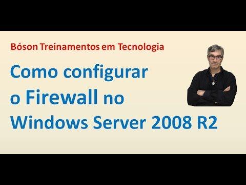 21 - Firewall do Windows Server 2008 R2