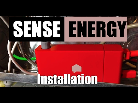 Sense Home Energy Monitor Unboxing and Installation
