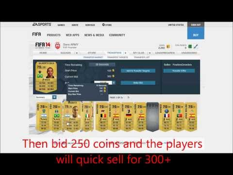 FIFA 14 ULTIMATE TEAM MONEY MAKING GUIDE