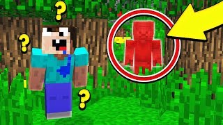 TROLLING AS RED STEVE ON MY MINECRAFT SERVER!