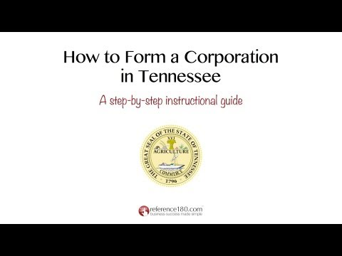 How to Incorporate in Tennessee