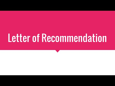 How to Write a Letter of Recommendation, Microsoft Office
