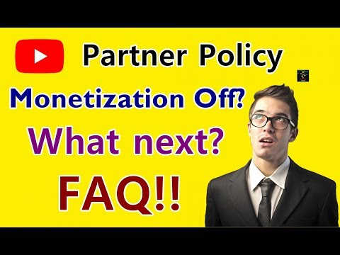 [HINDI] New YouTube Policy Applied | Monetization Disabled | What Next? | Common Questions Answered