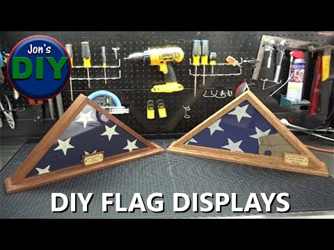 Build Your Own Flag Display Case, DIY