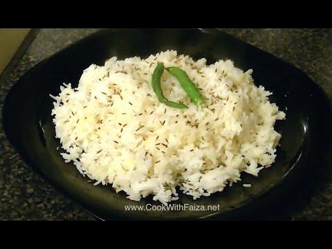 Zeera Jeera Rice Cook With Faiza