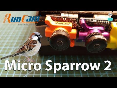 Runcam Micro Sparrow 2 - Review & SBS Comparison