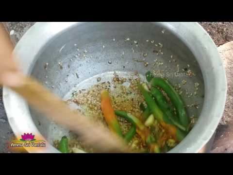 Coconut Chutney (కొబ్బరి చట్ని) Recipe  By Amma Sri Vantalu