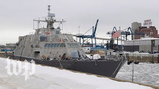 New $440M Navy ship stuck in Canada