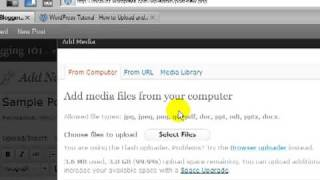 WordPress com - Step-by-Step Tutorial on How to Blog