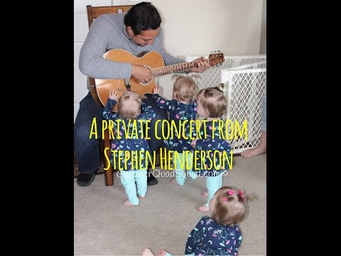 A PRIVATE CONCERT FOR THE GIRLS WITH STEPHEN HENDERSON